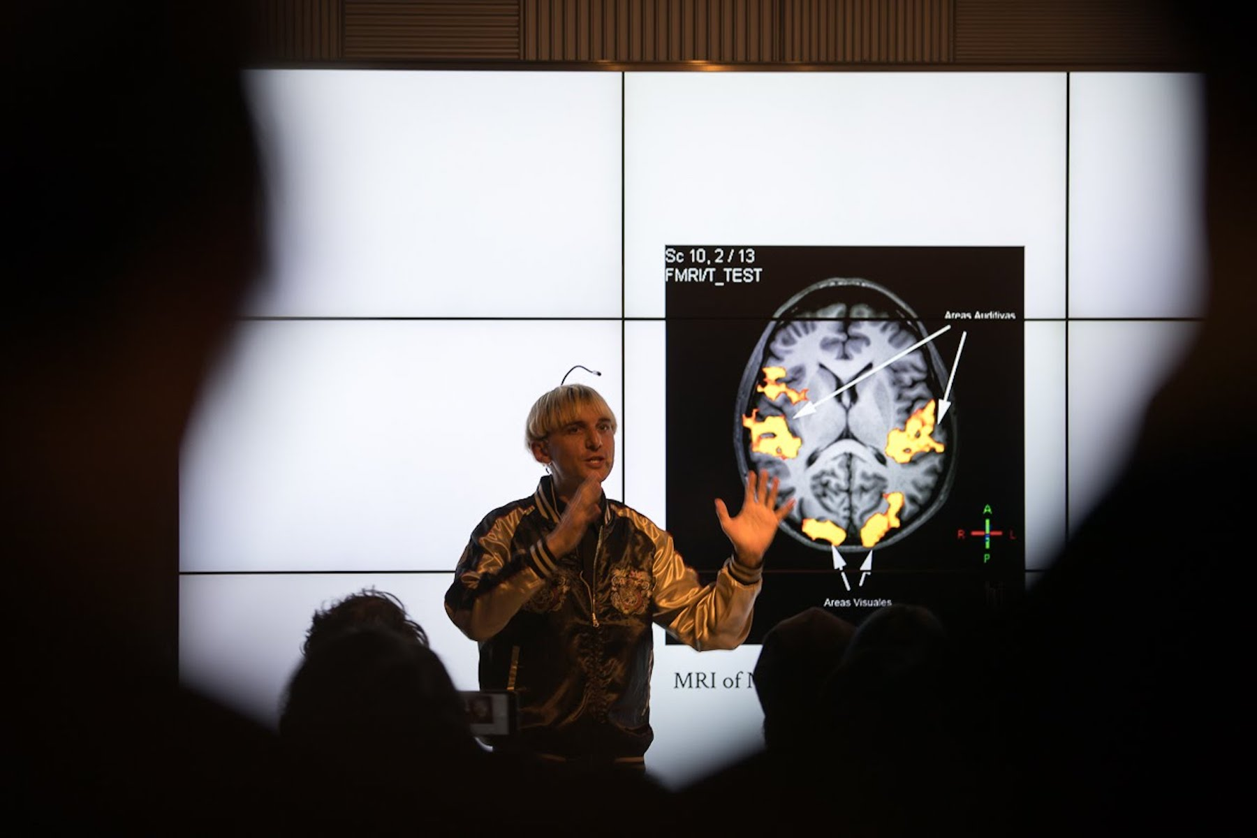 Neil Harbisson and his extrasensory science