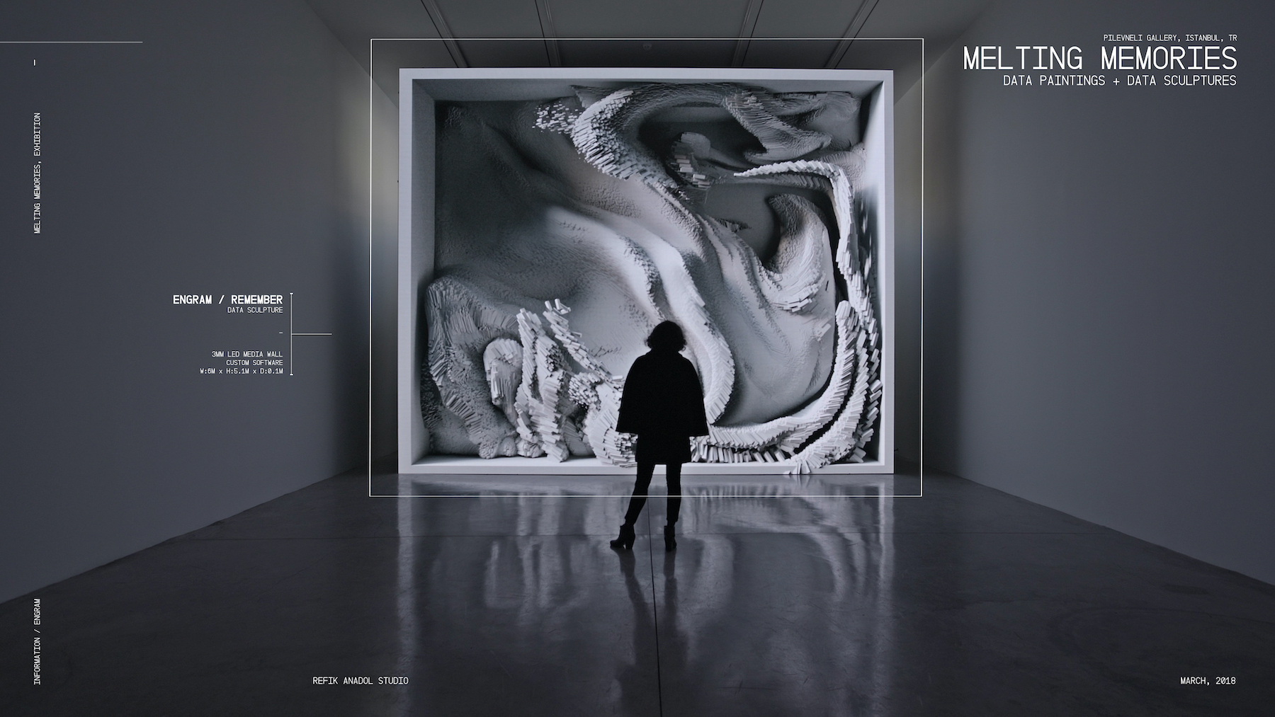 Refik Anadol Volvo Art Session 2019
