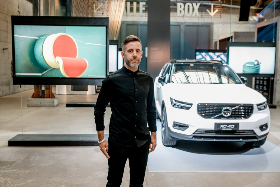 Andreas Wannerstedt at the Volvo Art Session 2018